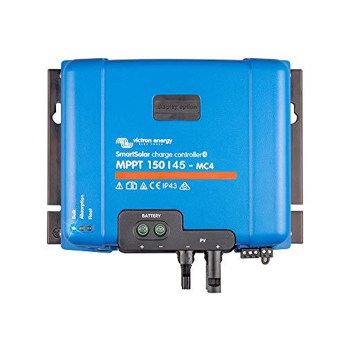Victron SmartSolar MPPT Solarladeregler 150/45 MC4 12V 24V 48V 150V PV Eingang 45A max.