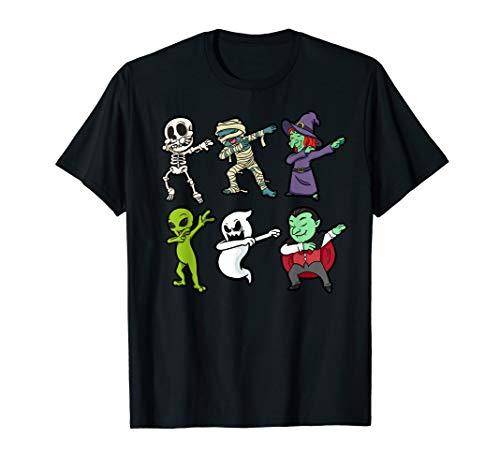 Mutter Tochter Und Hexe Kostüm - Halloween Skelett Mumie Alien Hexe Geist Vampir Geschenk  T-Shirt