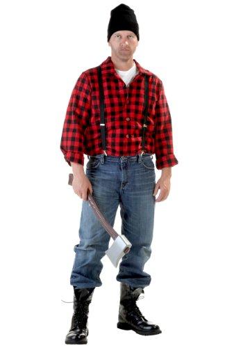 Holzfäller Kostüm Herren - Erwachsenen Holzfäller Kostüm -