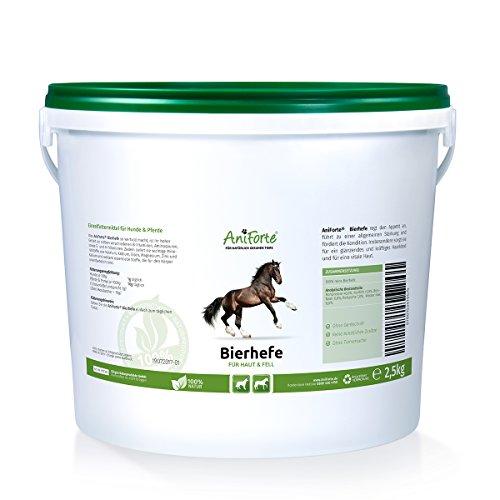 AniForte reine Bierhefe 2500g - Naturprodukt für Hunde und Pferde