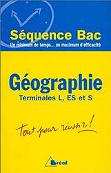 Géographie. Terminales L, S, ES