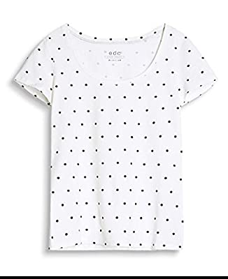 edc by Esprit Women's 067cc1k086 T-Shirt