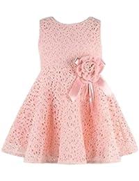 Niña Vestido, beikoard 1pieza 0–7años para niñas recién nacido bebé infantil Niño Niñas Vestido una pieza de encaje floral bebé princesa vestido de fiesta PK C