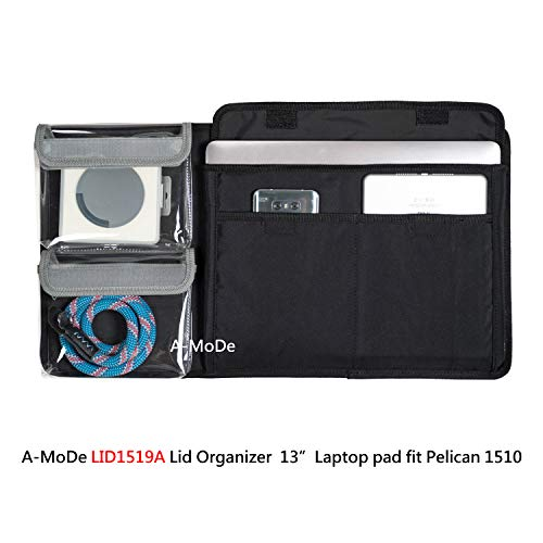 A-Mode LID1510B - Organizador Tapa portátil 13 Pulgadas