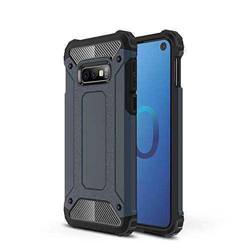 DaBuLiu Slim Armor Hybrid Shockproof TPU+PC Bumper Dual Layer Heavy Duty Protection Phone Case for Samsung Galaxy M20