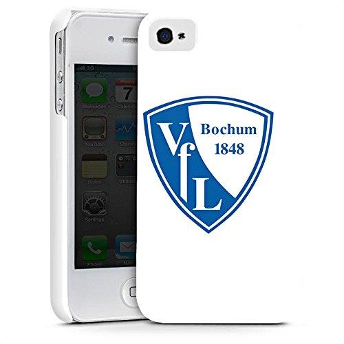 Apple iPhone X Silikon Hülle Case Schutzhülle VfL Bochum Fanartikel Fußball Premium Case glänzend
