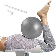 Softball Pilates, Mini Pelota de Ejercicio de 25cm, Anti-Burst Ballon Fitness, Softball Pilates para Gimnasio,