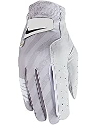 Nike Tech Glove Wrh Guantes, Mujer, Blanco (White / Black / Wolf Grey), M