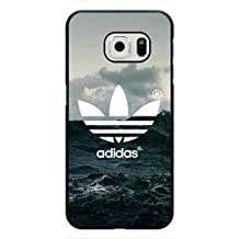 Unique Design Moulded Adidas Logo funda,TPU funda,Fashion Adidas is all in Phone Cover,Samsung Galaxy S6 Edge Back Case