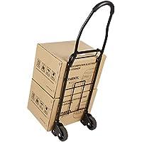 Meditool Chariot Diable De Transport Chariot Pliable de Manutention Charge de 50 Kg/100 Lbs