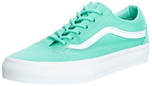 Vans U Old Skool Dress Blues/Neo, Sneaker Unisex – Adulto Verde (biscay green/true white)