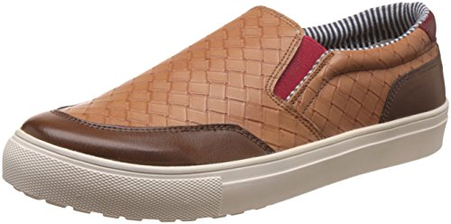 Knotty Derby Men's Alecto Casual Brown and Tan Sneakers - 11 UK/India (45 EU)