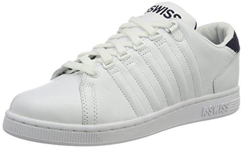 K-Swiss Herren Lozan III TT Sneaker, Weiß(White/Navy), 42 EU