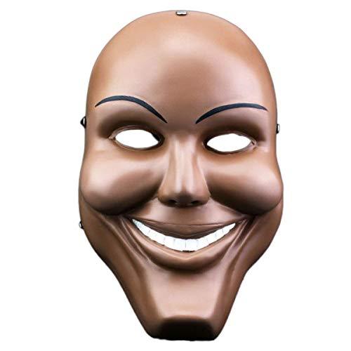 Xiao-masken Plastikreinigung Grinsen Maske Halloween Horror Party Maske Fancy Kiss Me Gott lächelnd Dekor Dress Up Party Bar liefert Kostüm