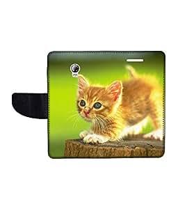KolorEdge Printed Flip Cover For Lenovo P1 Multicolor - (1479-55KeMLogo09811LenovoP1)