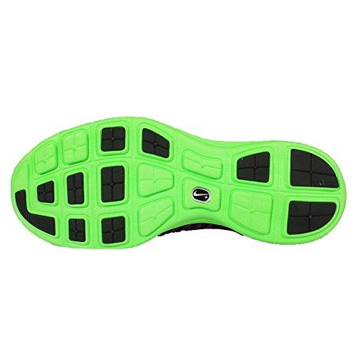 Nike Herren Lunaracer+ 3 Laufschuhe, Mehrfarbig, media Multicolore (Negro / Blanco / Verde / Morado (Black / White-Grn Strk-Vvd Prpl))