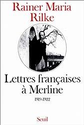 Lettres françaises à Merline, 1919-1922
