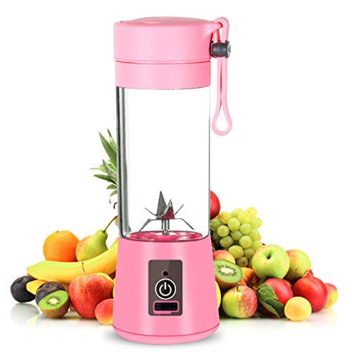 Local Makes A Comeback  - Recargable Juice Blender con USB,Mini Batidora Portátil,Juicer Cup with Updated 6 Blades