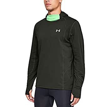9b670bba83bad6 Image Unavailable. Image not available for. Colour: Under Armour Reactor  Run Balaclava Hoodie ...