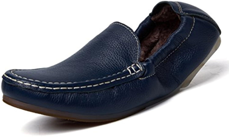 Minitoo LHEU LH1182  Herren Mokkasins  Blau   Fur Lined/Dark Blue   Größe: 39