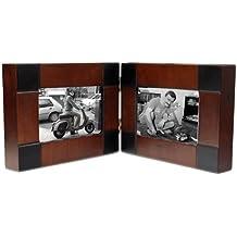 CHRISTIAN GAR Portafotos de madera abatible para 40 fotos 10 x 15 cm. Mod.