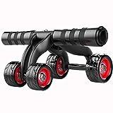 LY88 Ejercicio Fitness AB Roller Wheel GK AB Roller, Abdominal Roller, AB Roller Wheel-Muscle ejercitador para Gimnasio/Ejercicio en casa Entrenamiento-Sin Ruido-Ruedas Dobles
