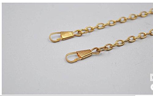 GSHGA Warmens Taschen Acryl Streifen Nehmen Sie Den Kampf Rechteck Schulter Messenger Bag Handtaschen Dinner Bag,Gold Gold