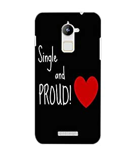 COOLPAD NOTE 3 LITE SING AND PROUD Back Cover by PRINTSWAG
