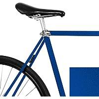 """MOOXI-Bike Fahrrad-Folie""""Metallic Nachtblau"""" für Den Rahmen deines Fahrrads (ausreichend für Ein Ganzes Rad)"""