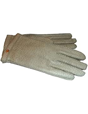 Roeckl Damen Handschuhe Peccary Leder Cashmerefutter 229-240-3732 grau