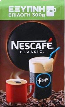 Greek Nescafe Classic Instant Frappe Coffee 300 gr