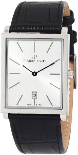 Pierre Petit - P-789B - Montre Homme - Quartz Analogique - Bracelet Cuir Noir