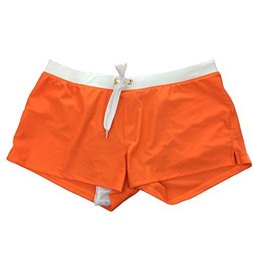 d6a9b4efa33a CHIYEEE Uomo Costume da Bagno Elastico Vita Bassa Slim per Nuoto Spiaggia  Mare Piscina Sport Slip