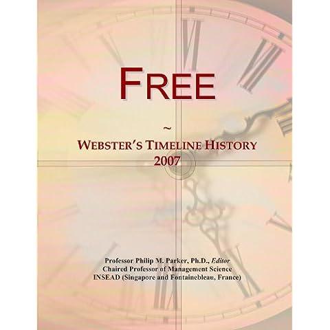 Free: Webster's Timeline History, 2007