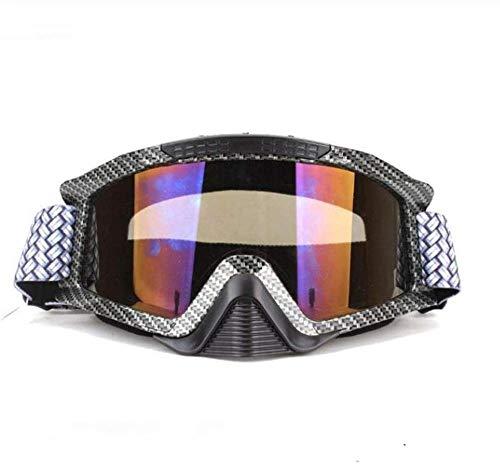 HZY Occhiali da Cross Occhiali Protettivi Snowboarder Esterni Gafas Casco Moto Occhiali da Sci da Gara Casco Antivento