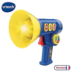 VTech Pat Patrouille - Le Mégaphone interactif de Chase Niño - Juegos educativos (AA, 250 mm, 133 mm, 279 mm, 520 g)