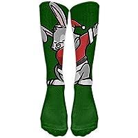 KOPPPU Dabbing Rabbit Ugly Christmas Athletic Tube Stockings Women Men Classics Knee High Socks Sport Long Sock... preisvergleich bei billige-tabletten.eu