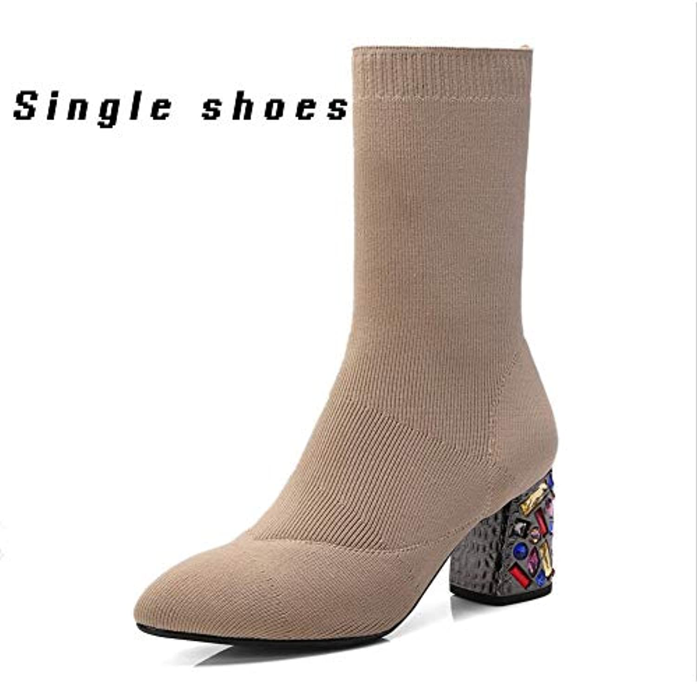 Mr.   Ms. XUE, Stivali Donna A-Single scarpe 35 Alta qualità ed economico Forte valore Stili diversi | Qualità e quantità garantite  | Uomo/Donne Scarpa