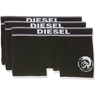 Diesel UMBX-SHAWNTHREEPACK, Calzoncillo para Hombre, Negro, M, Pack de 3