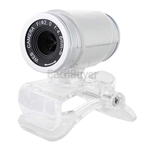 JYL PC-Webcam zum Streamen von HD-12-Megapixel-USB-2.0-Webcamkameras mit MIC-Clip-On für Computer-PC-Laptops,B (Mic Clip Computer)