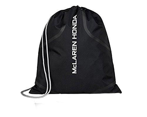 McLaren Honda Team Formula 1 Racing Fans Accessory Unisex Black Gym Bag Black by McLaren