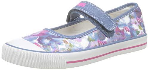 Pablosky, Zapatillas sin Cordones para Niñas, Azul Azul 954920, 35 EU