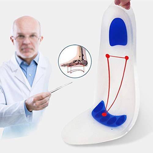 is Arch Support Mit Mehr Gepolstertem Komfort Für Plantarfasziitis, Gefallene Bögen, Achy-Fuß-Probleme Atmungsaktive Stoßdämpfung Verdickt Und Desodoriert ()