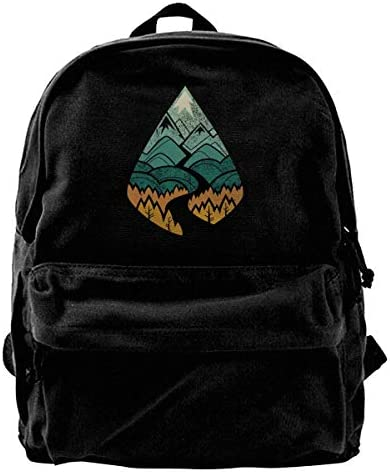 sd4r5y3hg The Road Goes Ever on Canvas Shoulder Backpack Backpack Backpack Backpack   Femme Teens College Travel Daypack B07KF89HTQ   Matériaux Soigneusement Sélectionnés  3aa018