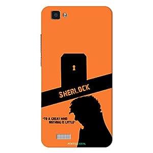 PosterHook Sherlock Designer Case for Vivo V1