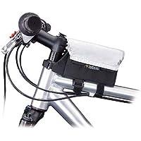 Topeak Tri Bag with Rain Cover Seat Pack - Black/Silver, Medium
