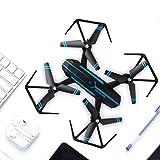 Intelligente faltende UAV-Drohne 720P HD-Weitwinkelkamera APP Remote-WLAN-3D-Roll-Over One Key Entfernen Aufrechterhaltung der Höhe Quadcopter Blau & Schwarz