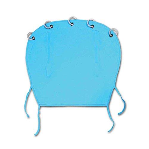 Mengonee Kinderwagen Sunshield Ventilated Sonnenschutz-Abdeckung Rollvorhang Sonnenschutz-Tuch Pram Buggy Buggy Canopy