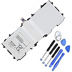 Hubei T4500E&C Batterie d'ordinateur Portable pour Samsung Galaxy Tab 3 10.1 GT-P5210 P5200 GT-P5210 P5213(3.8V 6800mAh 25.84Wh)