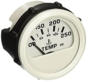 DRESS WHITE WATER TEMP. GAUGE